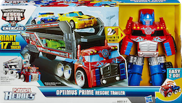 Transformers Rescue Bots Rescue Bots Optimus Prime Rescue Trailer