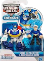 Rescue Bots Chase and Chief Charlie Burns