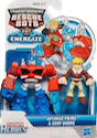 Rescue Bots Optimus Prime and Cody Burns