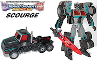 Transformers Timelines (BotCon) Scourge (TF Club Subscription)