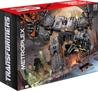 Transformers Generations Metroplex w/ Scamper (SDCC Exclusive, Fall of Cybertron)