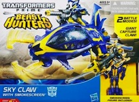 Transformers Prime Sky Claw with Smokescreen (Beast Hunters)