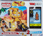 Angry Birds Transformers Bumblebee Bird Blast Launcher w/ Goldbite Grimlock Bird