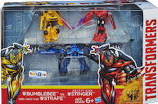 Transformers 4 Age of Extinction Bumblebee vs. Stinger with Strafe
