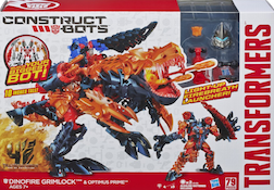 Transformers Construct-Bots Dinofire Grimlock - Construct-Bots
