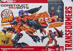 Construct-Bots Dinofire Grimlock - Construct-Bots