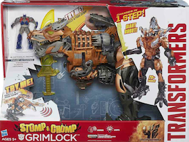Transformers 4 Age of Extinction Grimlock - AoE Chomp and Stomp