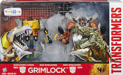 Transformers 4 Age of Extinction Evolution Grimlock 2-Pack