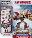 Transformers Kre-O Volcanicon (Combined form of: Farside, Liftoff, Lugmutt, Power Surge)
