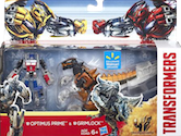 Transformers 4 Age of Extinction Legion Optimus Prime with Grimlock