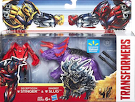 Transformers 4 Age of Extinction Legion Stinger vs Slug