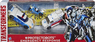 Transformers (2014) Protectobots Emergency Response -  Streetsmart, Groove, First Aid