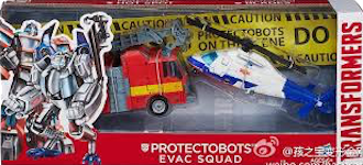 Transformers (2014) Protectobots Evac Squad two-pack (Protectobot Hot Spot, Protectobot Blades)