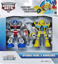Transformers Rescue Bots Silver Force Optimus Prime & Bumblebee (Target exclusive)