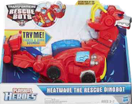 Transformers Rescue Bots Heatwave the Rescue Dinobot (Electronic toys)