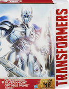 Transformers 4 Age of Extinction Silver Knight Optimus Prime (Target Excl)