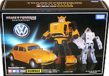 Transformers Masterpiece (Takara) MP-21 Bumble (Takara Masterpiece Bumblebee w/ Spike Witwicky)