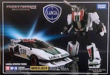 Transformers Masterpiece (Takara) Wheeljack (Takara Masterpiece)