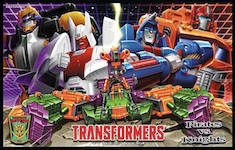 Transformers Timelines (BotCon) Pirates vs. Knights Boxed Set: Cannonball, Derak, Scorponok, Devcon, Ginrai