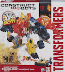 Construct-Bots Bumblebee with Nosedive- Construct-Bots Dinobot Warriors