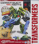 Transformers Construct-Bots Hound with Wide Load- Construct-Bots Dinobot Warriors