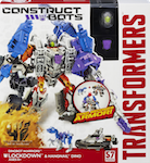 Transformers Construct-Bots Lockdown with Hangnail - Construct-Bots Dinobot Warriors