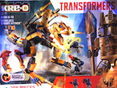 Transformers Kre-O Grimlock Street Attack (Kre-O with Optimus Prime and Vehicons)