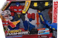 Transformers Hero Mashers Optimus Prime - electronic Hero Masher