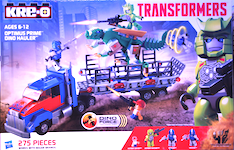 Transformers Kre-O Optimus Prime Dino Hauler (Kre-O, with Ratchet)