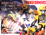 Transformers Kre-O Cell Block Breakout (Kre-O with Bumblebee and Strafe)