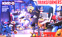 Transformers Kre-O Galvatron Factory Battle (Kre-O, with Optimus Prime and Bumblebee)