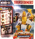 Transformers Kre-O Grimstone (Kre-O Microchanger with Mollox, Ironeye, Crackback & Iquanox)