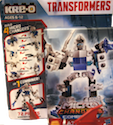 Kre-O Lazerbolt (Microchanger Combiner with Freezeout, Bullhorn, Roadhound, Floodgate)