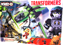Transformers Kre-O Lockdown Air Raid (Kre-O with Hound and Sideswipe)