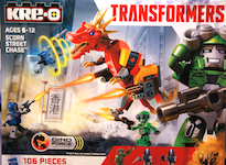 Transformers Kre-O Scorn Street Chase (Kre-O with Crosshairs)