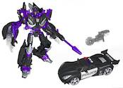Transformers Timelines (BotCon) Barricade with Frenzy (TFCC)