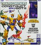 Transformers Construct-Bots Unicron Megatron - Construct-Bots Triple Team