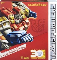 Transformers Platinum Edition Year of the Horse Starscream (Platinum)