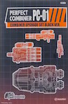 3rd Party PC-01 Perfect Combiner - Upgrade Set for Aerialbots / Superion Hands/Feet