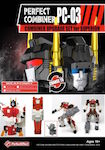 3rd Party PC-03 Perfect Combiner - Upgrade Set for Aerialbots / Superion