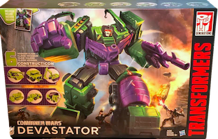 Transformers Generations Constructicon Devastator (Scavenger, Hook, Bonecrusher, Long Haul, Scrapper, Mixmaster)