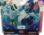 Transformers Robots In Disguise (2015-) Bumblebee vs Underbite (Legion 2-pack, Toys R Us exclusive)