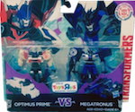 Robots In Disguise / RID (2015-) Optimus Prime vs Megatronus (Legion 2-pack, Toys R Us exclusive)