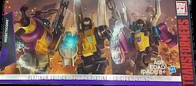 Transformers Generations Insecticons (Platinum: Bombshell, Kickback, Shrapnel)