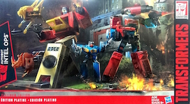 Transformers Generations Autobot Intel Ops (Blaster and Perceptor)