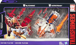 Transformers Generations Decepticon Triple Changers (Astrotrain and Blitzwing)