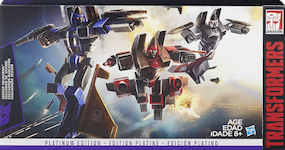 Transformers Generations Seeker Squadron: Thrust, Dirge, Ramjet (G1 figure re-issue)