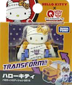 Q-Transformers (Takara) QTC-01H Hello Kitty (Haloween Edition)
