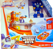 Transformers Rescue Bots High Tide (playset)