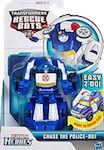 Rescue Bots Chase The Police-Bot (Rescan - rescue SUV)